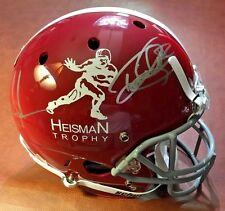 Derrick Henry Mark Ingram Signed ALABAMA Heisman Full Size Helmet w GTSM Holo(s)