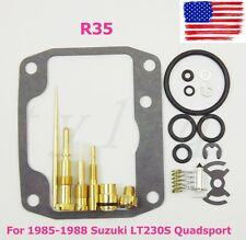 NEW Suzuki LT230S Quadsport 1985-1988 CARBURETOR Carb Rebuild Kit Repair LT230