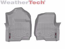 WeatherTech Floor Mats FloorLiner for Ford Super Duty - 2017 - 1st Row - Grey