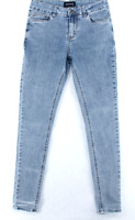 Denim Collection Womens Blue Stretch Mid Rise Ankle Skinny Fit Jeans Size 28