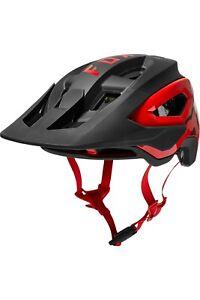 New Fox Racing Speedframe Pro MIPS Mountain Bike Helmet Black Red Size Large