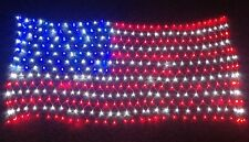 LED Flag Net United States Indoor Outdoor Party Decor Home Patriotic Gift New