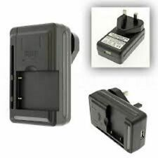 Universal Camera Battery Charger With UK 3 Pin Plug & USB Port for all types