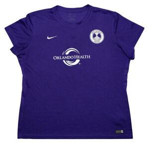 NIKE Orlando Pride NWSL Soccer Shirt Jersey Purple Women's XXL 2XL