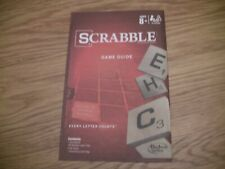 Scrabble Board Game Replacement Parts/Pieces-instructions