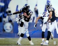 LaDainian Tomlinson Signed Autographed 16X20 Photo Chargers Action Blue Ink COA