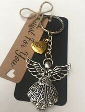 Guardian Angel * Brother * Keyring Bag Charm *Bereavement *memorial * Gift