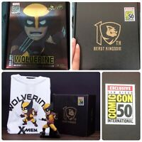 Marvel Egg Attack Wolverine Figure & Tee Shirt 2019 SDCC Exclusive Beast Kingdom