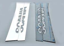 Scania 7 SERIES Door PILLAR Super Polished Stainless Steel 4 Pcs