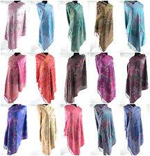 wholesale 10pc  Wedding Shawls Paisley retro viscose pashmina shawl scarf