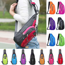 Adults Sports Small Chest Bag Travel Gym Shoulder Sling Backpack Cross Body Bags