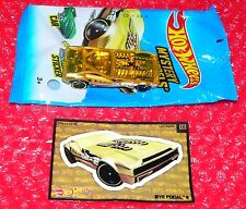 Hot Wheels  Mystery Car  BYE FOCAL II   H51/03  UNOPENED   Y8127-F610  chase