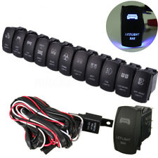 LED LIGHT BAR FOG SPOT ON/OFF LASER ROCKER SWITCH RELAY WIRING HARNESS LOOM KIT