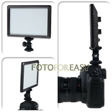 Ultra Thin 112-LED Video On-Camera Light Pad for Canon Nikon DSLR DV Camcorder