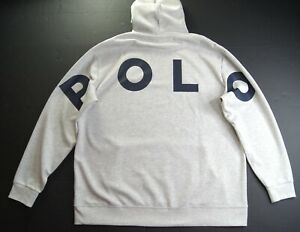 POLO RALPH LAUREN Men's Big & Tall Large POLO Double Knit Pullover Hoodie NWT