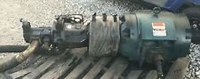 3 Phase 75 Hp Reliance Duty Master Ac Motor And Hydroaulic Pump