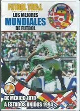 LOS MEJORES MUNDIALES DE FUTBOL DE MEXICO 1970 A ESTADOS UNIDOS 1994 NEW DVD