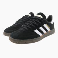Mens New Adidas Originals Handball Spezial Black Suede Trainers UK 8 BNIB DB3021