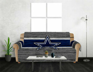 Dallas Cowboys Sofa Cover Couch Chair Loveseat Slipcover Furniture Protector 1-3