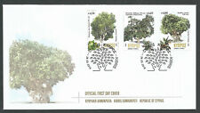 Cyprus Stamps SG 2019 Centennial trees in Cyprus Official FDC