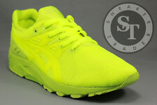 ASICS GEL-KAYANO TRAINER EVO H51DQ-0505 MONO PRINT PACK LIME DS SIZE: 9.5