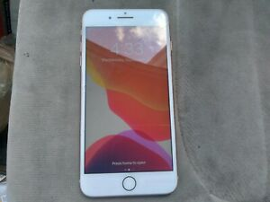 Apple iPhone 8 Plus 64GB Clean ESN Sprint Front Crckd Screen Works Great & ID 👍