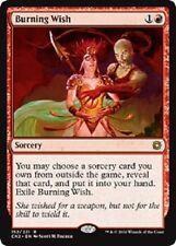 Burning Wish x 4 (Eternal Masters) MTG Ready to Ship