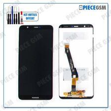 ECRAN LCD + VITRE TACTILE pour HUAWEI PSMART P SMART NOIR + outils + colle B7000