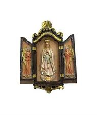 Blessed Virgin Mary Our Lady of Fatima Wall Plaque Ornament Decor