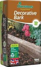 More details for best value 100l wood chippings  bark  mulch  wood chips  free gardening gloves