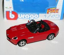 Burago - BMW Z8 Cabrio (Red) 'Street Fire' Model Scale 1:43