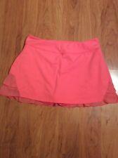Kyodan women's tennis golf skirt skort orange size S