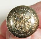 Vintage Staunton VA Military Academy 1884-1976 Brass Coat Button SHINY!