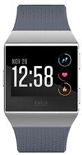 Fitbit Ionic Fitness Smartwatch Herzfrequenz Tracker NEU OVP- Blau Grau/ Silber
