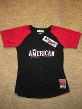 Majestic American League 2015 All Star Game Jersey Size MediumBlack MLB Baseball