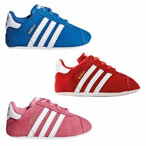 Adidas Originals Gazelle Crib Learn-to-Walk Baby Shoes New