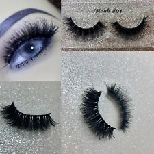 3 Pairs 3D Tapered Volume Premium Silk Thick Long False Eyelashes Us Seller