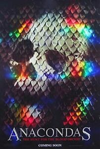 Anacondas (Double Sided Advance) (High Gloss 3D) Original Movie Poster