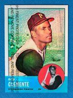 Roberto Clemente #9 Refractor (1998 Topps Chrome) 1963 Commemorative Reprint