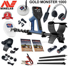 Minelab GOLD MONSTER 1000 High Performance Metal Detector With 2 Search Coils +