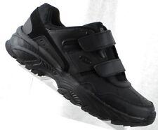Mens DR. SCHOLLS Vantage Black Leather Sport Walking Shoes Size 10.5 EE Wide
