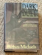 DARK DUET By Barbara Michaels Hardcover