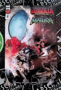 Godzilla Rivals VS Mothra 2021 IDW Comics 1:10 Barravecchia Variant 09/15