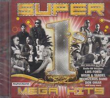 Luis Fonsi Fanny Lu Makano Eddy Lover Xtreme Super 1s Mega Hits CD New Sealed