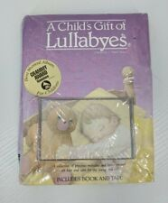 A Child's Gift of Lullabyes 1987 Book & Tape by J Aaron Brown Childrens Music