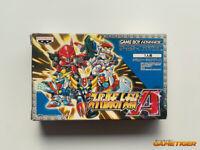 SUPER ROBOT WARS Taisen A GBA Nintendo Game Boy Advance JAPAN