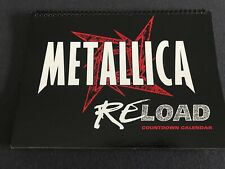 Metallica Reload Countdown Calendar display Usa promo Countdown Calendar 1997