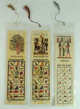 500 EGYPTIAN LARGE PAPYRUS BOOK MARKS LOT WHOLESALE