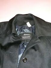 SCHNEIDERS SALZBURG Black LODEN COAT  WOOL  and Cashmere MADE IN AUSTRIA SZ 12