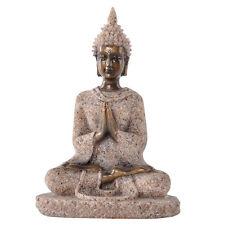 New listing 1 Pc Sculpture Handmade Sandstone Meditation Buddha Statue Home Exotic Decor